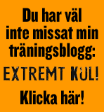 Du har vlinte missat min trningsblogg - Extremt Kul!