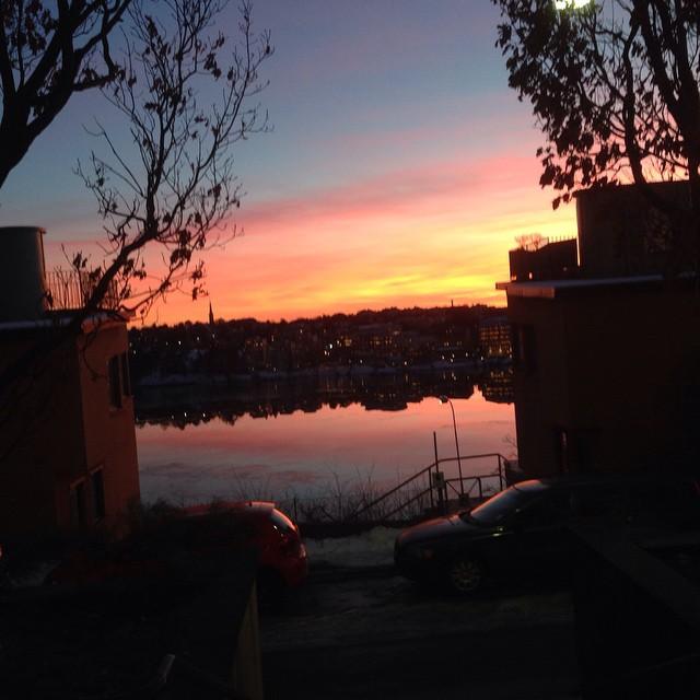 Vilken vacker kväll!