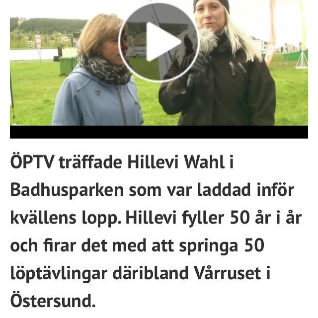 Härlig intervju i ÖP. Om och livet. Alltet. . Http://www.op.se/sport/friidrott/infor-kvallens-loparfest