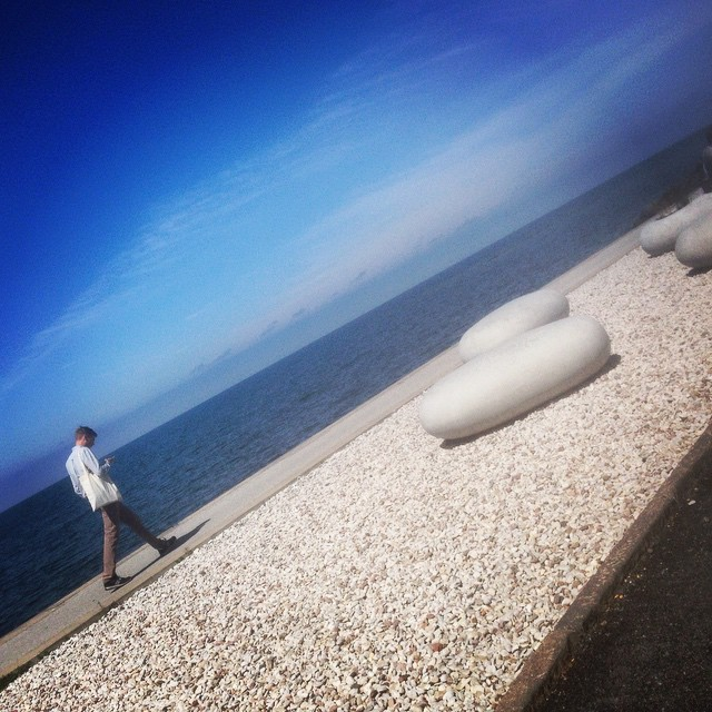 Havet och stenarna.