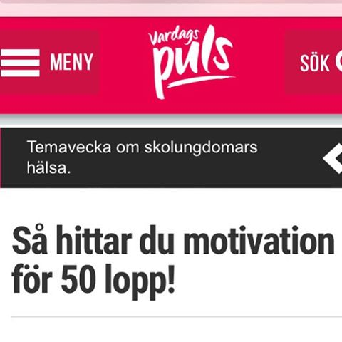 Det finns mycket nytt och kul på Vardagspuls.se nu. Här är tv-inslaget från veckan där jag också snackar om hur jag fick igång min egen familj.