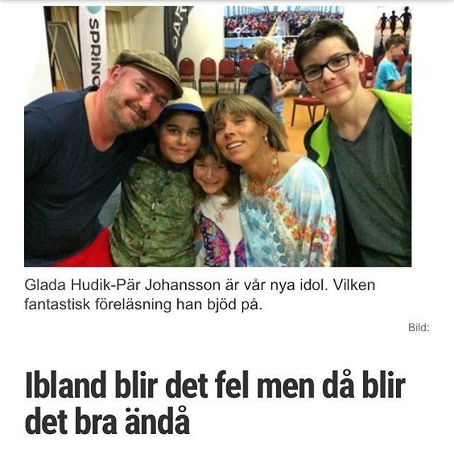 Ibland blir det fel. Men då blir det bra ändå. Pär Johansson briljerade. Http://www.vardagspuls.se/bloggar/hillevi-wahl/ibland-blir-det-fel-men-da-blir-det-bra-anda/