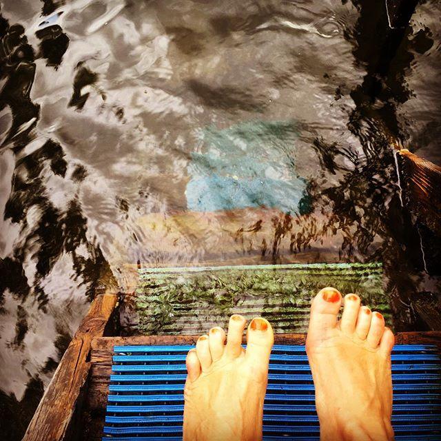 Ingen dag är riktigt komplett utan ett svalkande bad.