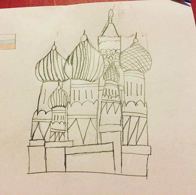 En helt vanlig måndag ritar Movitz Kreml. Bara sådär.
