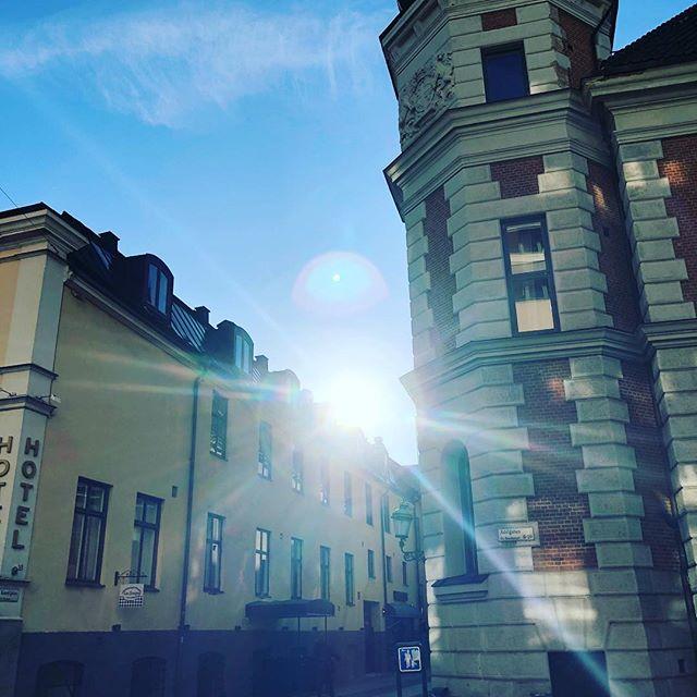 En sådan fin dag. Tack Malmö.