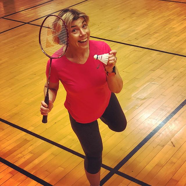 Glad badmintontant!