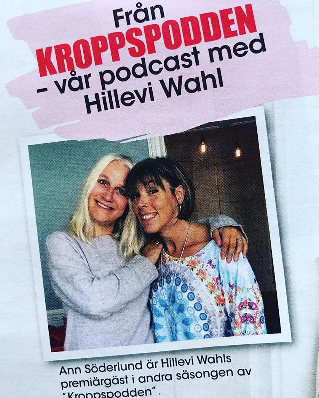 Tjoho! Då är vi igång igen. Med höstens avsnitt av Kroppspodden. Med både tryckt tidning och podcast. Först ut är underbara Ann Söderlund som är så generös och kärleksfull och närvarande i nuet. Välkommen att lyssna och läsa. @allas_veckotidning