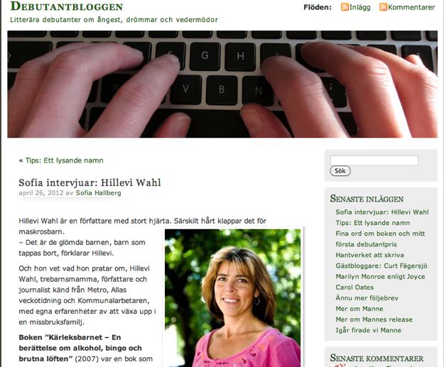 Debutantbloggen