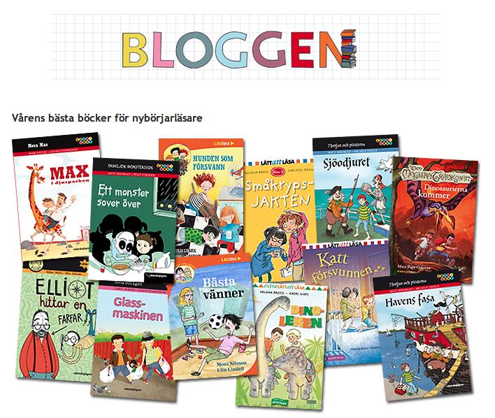 Vårens bästa böcker för nybörjarläsare