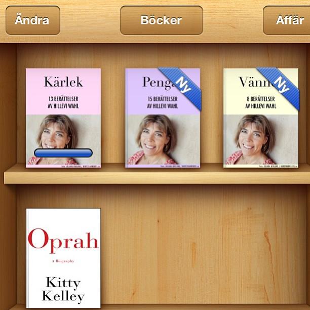 Varsågoda. Nu finns det tre gratisböcker. Dagens boktips: Kärlek.