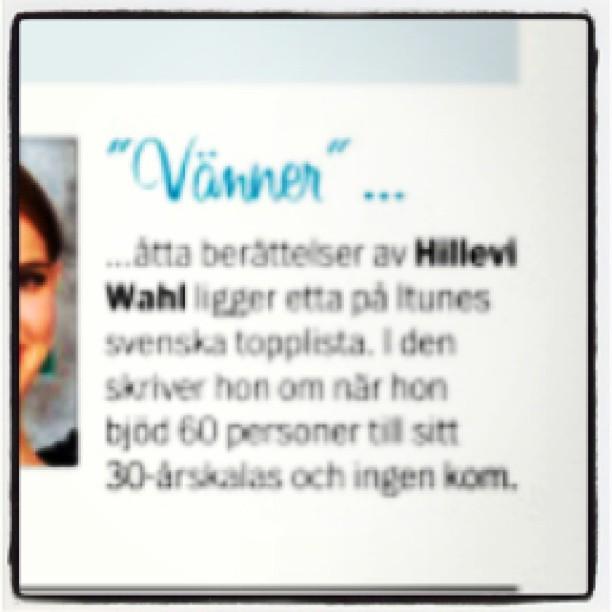 Åh! The Queen of all booktips Ingalill Mosander tipsar om mina böcker i Aftonbladet!