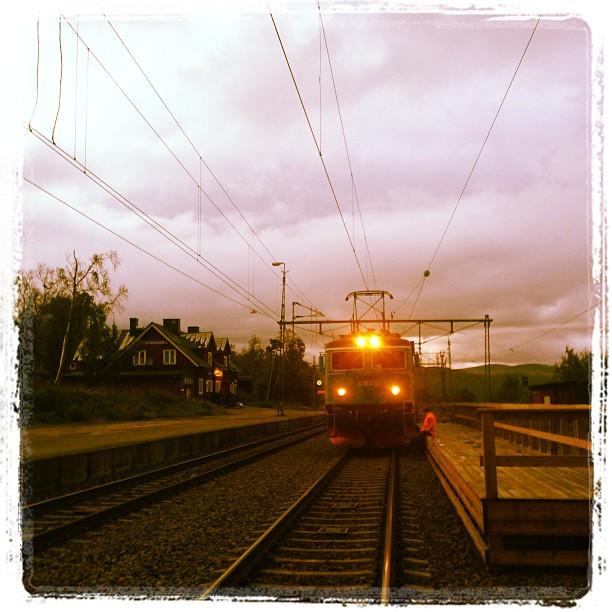 Björkliden train.