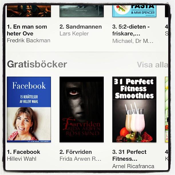 Yabbadabbadoo! Sju veckor. Sju böcker. Sju förstaplatser! Tack alla! Ni är otroliga!