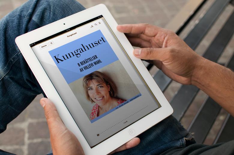 Kungahuset - Ny bok av Hillevi Wahl - ute nu