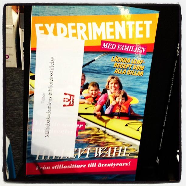 Rösta på Experimentet! Måltidsakademien. Vid matscenen, andra våningen.