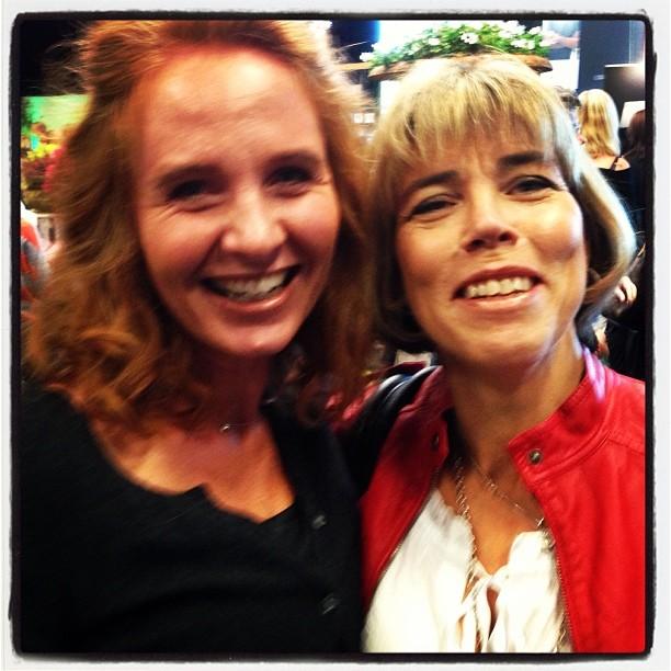 Sofia Hallberg! Vi letade kladdkakor tillsammans. Gick sådär.