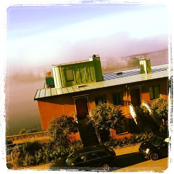 The fog. Får mig att minnas San Francisco. Lite.