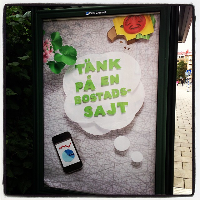 Genial reklam. Vem ligger bakom?
