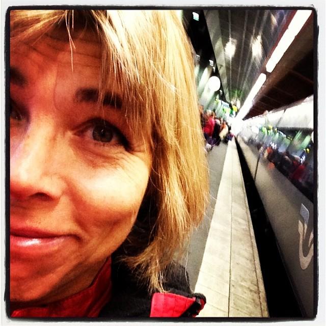 På väg mot Gävle. Here we go.