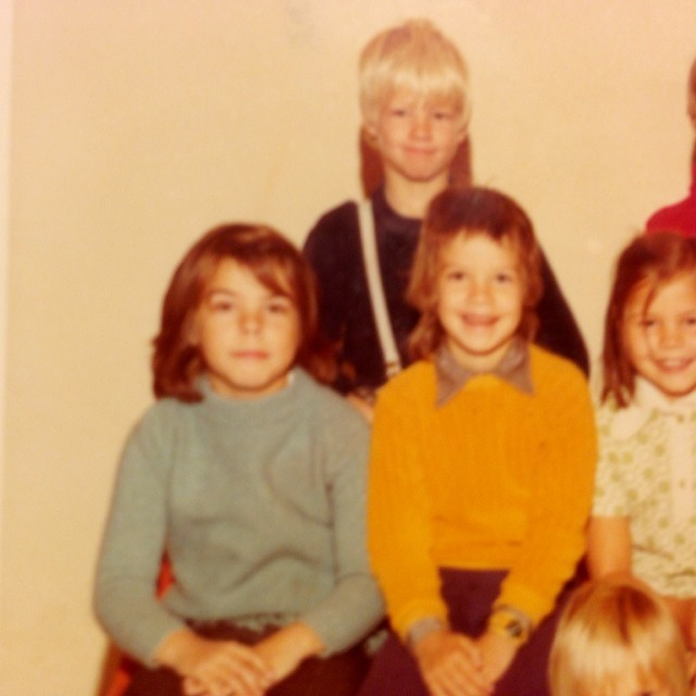 Det var en gång en liten Hillevi som var sju år.