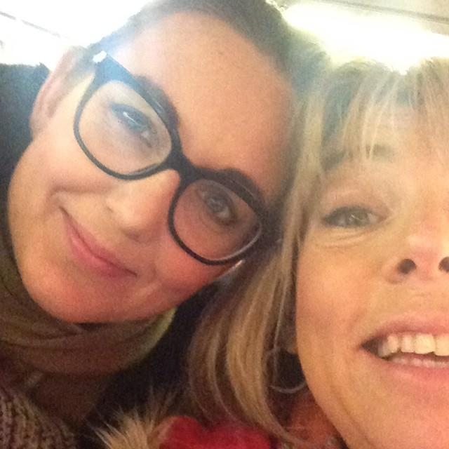 Jag och Sanna Lundell. På väg mot Malmö. Vi gör tv-dokumentär. Kommer i din tv i höst. Don't miss.