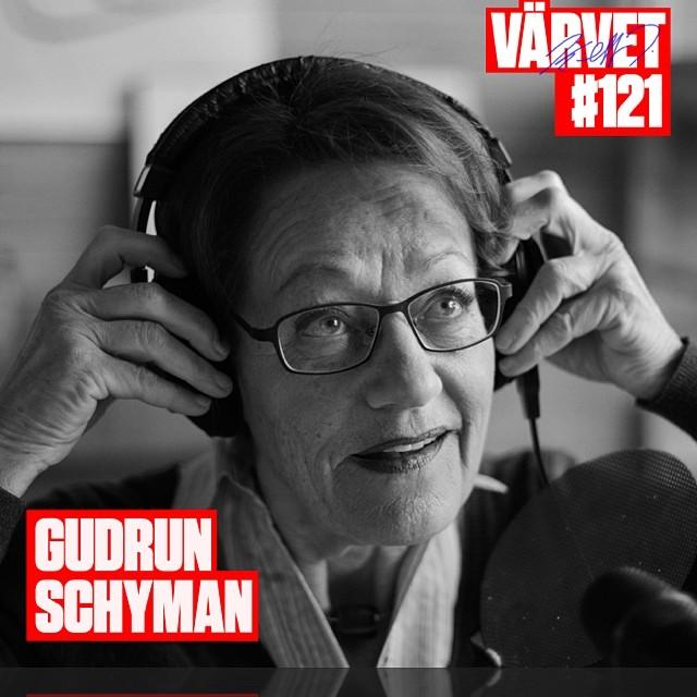 Okej. Nu är det så här. Att ALLA måste lyssna på Gudrun Schyman i Värvet. Bättre radio hittar ni inte. Så lyss på!