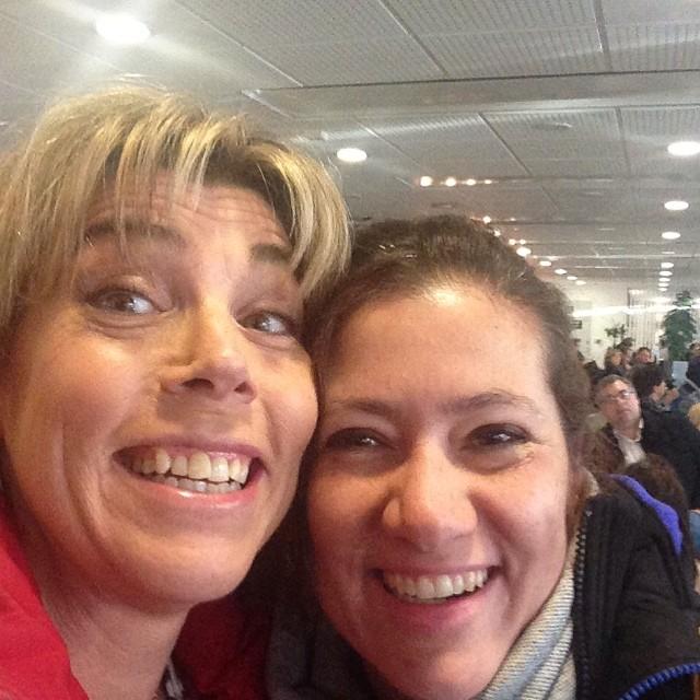 Vackra människor man möter på Bromma Flygplats: Juliana Wiklund!