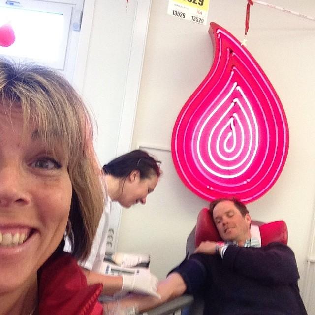 Äntligen har jag gjort slag i saken och anmält mig som blodgivare igen! Och så trevligt på Fridhemsplan!