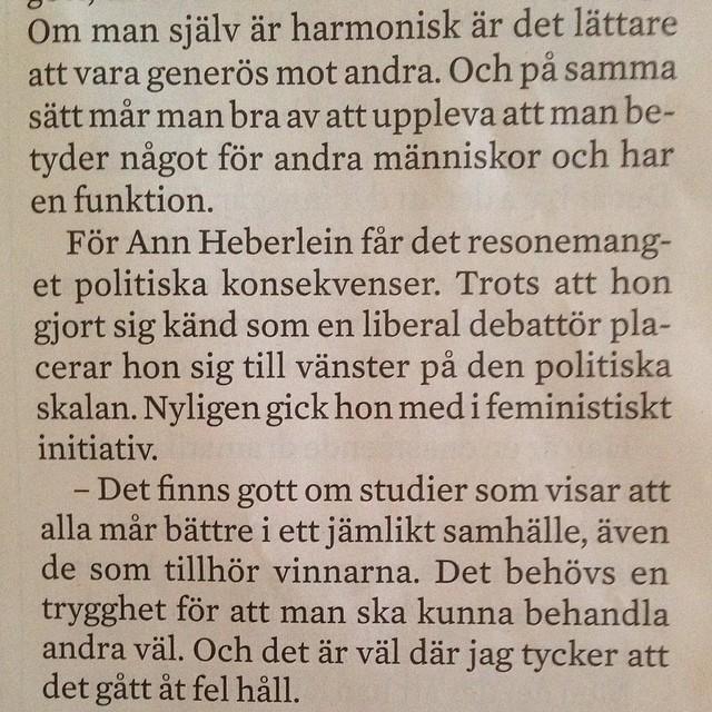 Även Ann Heberlein! @gudschy @feministerna