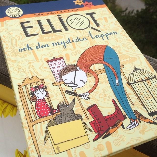I dag släpps nya Elliotboken! Yeay! #raben&sjögren