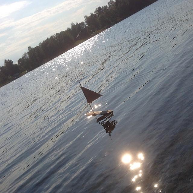 Movitz sommarbåt. Kräver inte mycket underhåll. Perfekt.