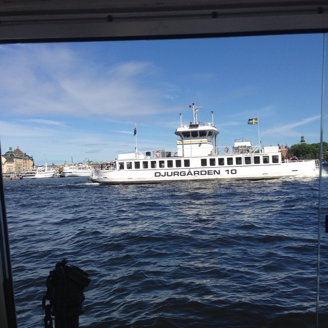 Och fler båtar.
