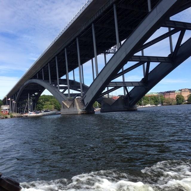 Västerbron. Bästa bron.