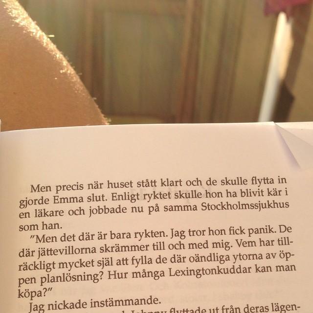 Eli Åhman Owetz! Jag älskar dina formuleringar. Jag hade också fått panik. (Ur Anna-Lisas Antik).