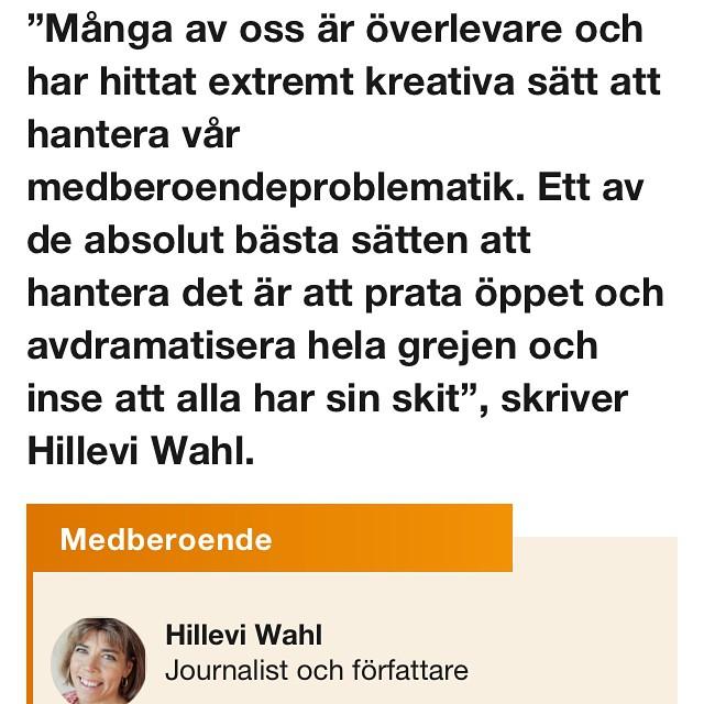Dagens SVT Opinion. Av med offerkoftan! @Djävulsdansen @medberoende