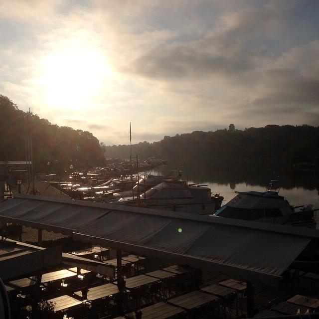 Underbar morgon. Stockholm är då vackert. #50-lopp