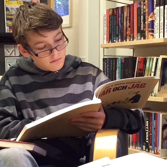 Älska bibliotek! Älska Berglins.