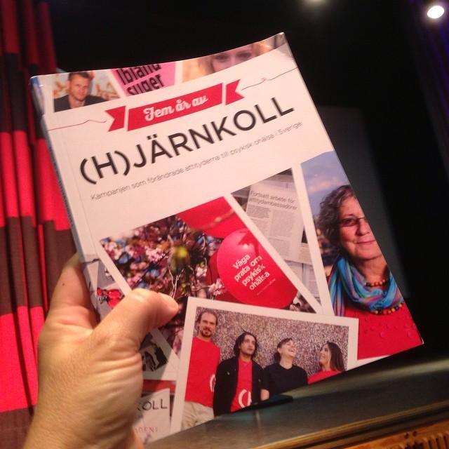 Snart pratar vi på ABF-husets scen om den sprillans nya boken som släpps i dag. World Mental Health Day, nu kör vi!