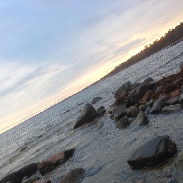 Havet. Luften. Syret.