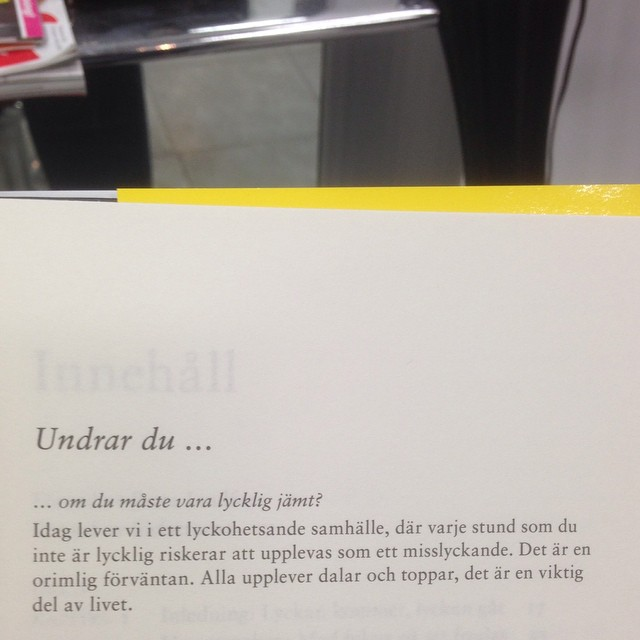 Sant. Ur boken Lycka på fullt allvar (Natur & Kultur)