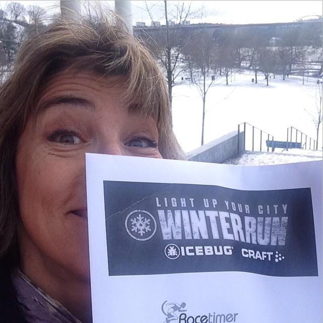 Nummerlapp check! I morgon är det start nere i Tanto! Vem av mina kompisar springer Stockholm Winter Run? Det finns förresten platser kvar! Kom och spring!