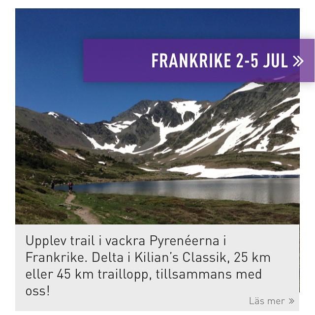 Vad är det för lopp du ska springa i Franska Pyrenéerna, Hillevi? Jo det här! Med Team Nordic Trail. Kolla in deras löparresor! Både i Sverige, Europa och Afrika.