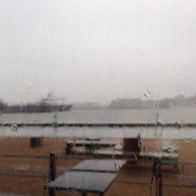 Hej Göteborg. Det var inte det här vädret jag beställde.