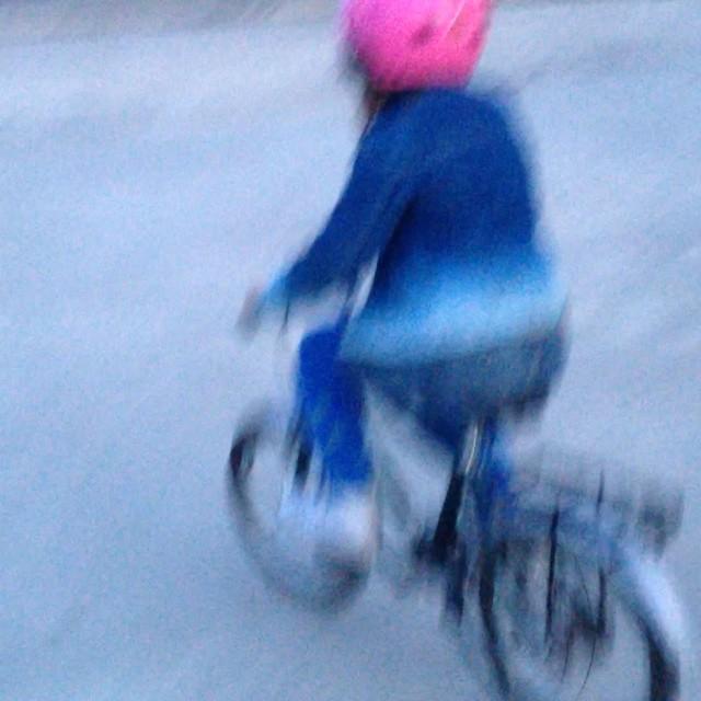 NEWSFLASH! Lykke kan cykla!