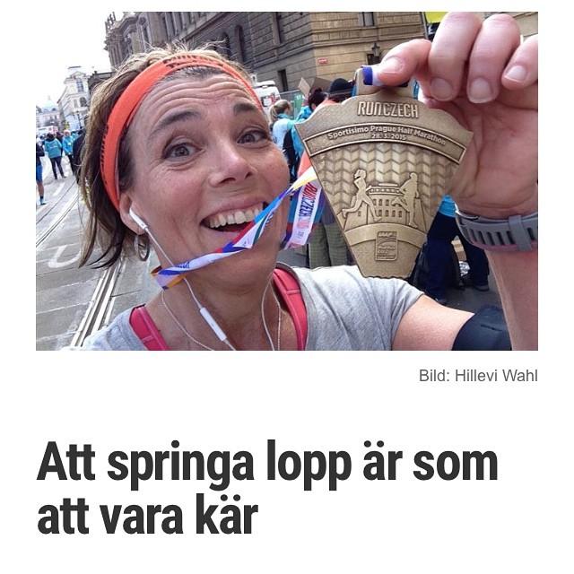 I dag bloggar jag om känslan i kroppen. På Vardagspuls.se http://www.vardagspuls.se/bloggar/hillevi-wahl/att-springa-lopp-ar-som-att-vara-kar/