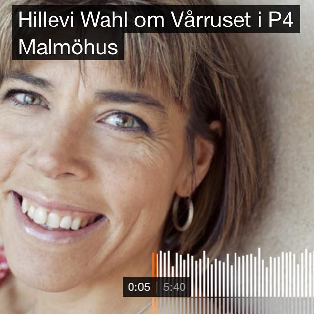 Gunnar är snabb! Nu ligger klippet ute på soundcloud: Http://soundcloud.com/grj/hillevi-wahl-om-varruset-i-p4-malmohus