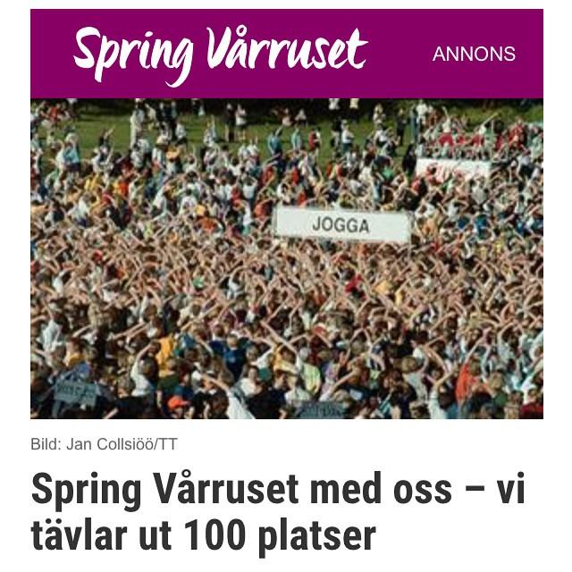 Missa inte! Folkfest varje vecka! Man kan springa, jogga eller gå. Och vinna fantastiska priser! Vardagspuls.se