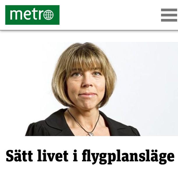 Dagens Metrokrönika. HTTP://www.metro.se/kolumner/satt-livet-i-flygplanslage/EVHofp!TdB7KSu6YiMzk/