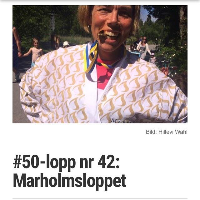 nummer 42 blev Marholmsloppet. Här är blogginlägget och filmen.