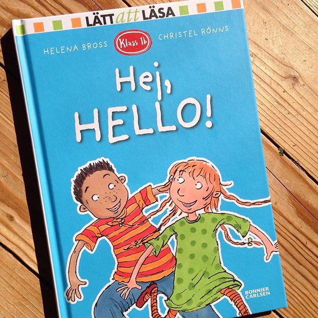 Ny bok av Helena Bross! Hurra! Detta geni. Passar perfekt för sjuåringen som börjar experimentera med engelskan.